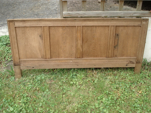 Oak 4ft headboard / Panel