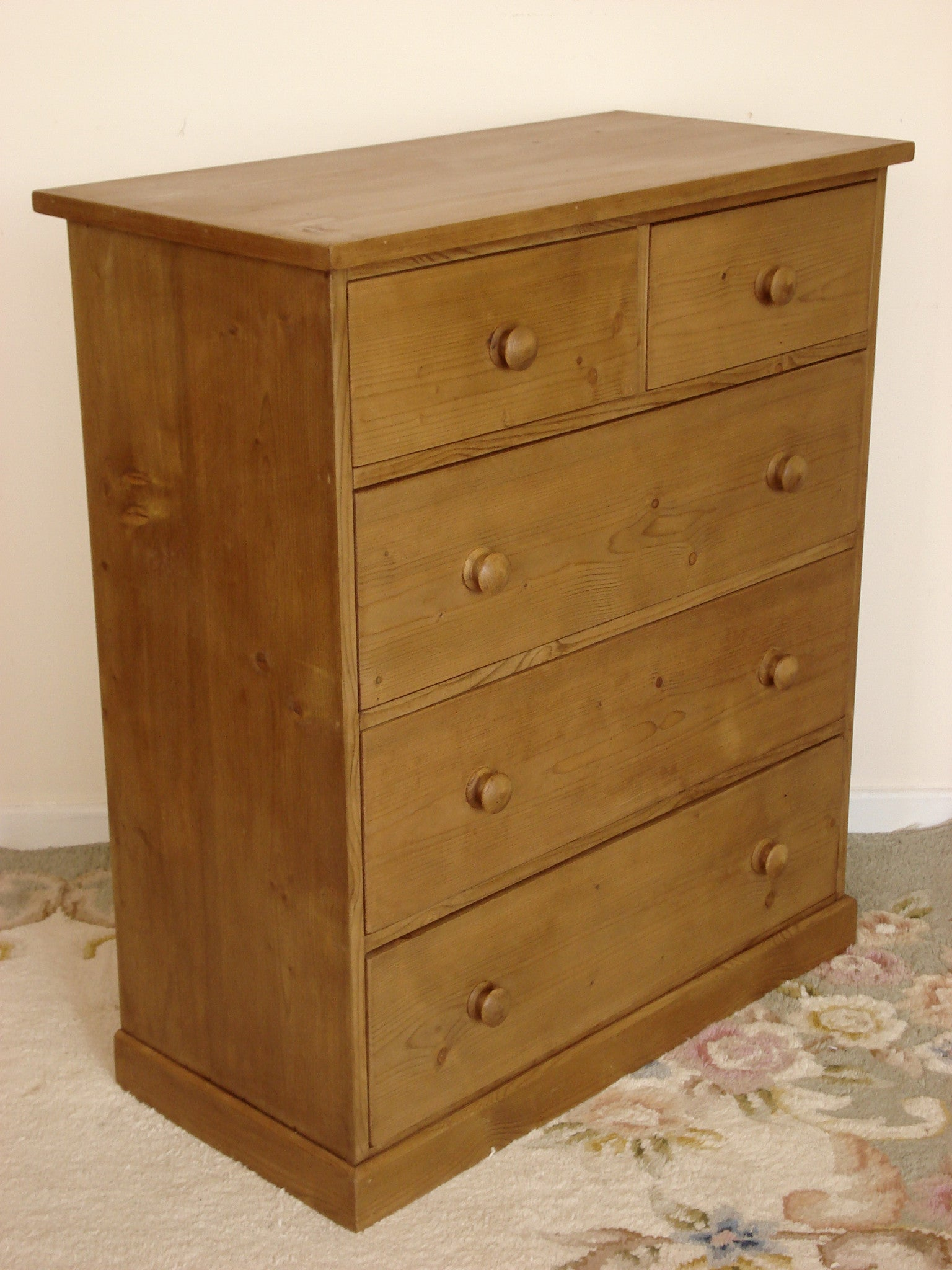 Honey Pine Chest of Drawers