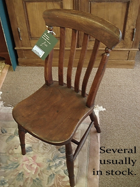 Victorian Slat Back Kitchen Chair