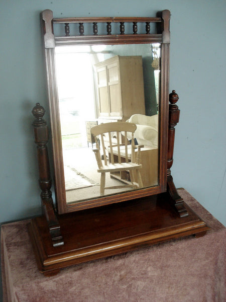 Splendid Edwardian Dress Mirror