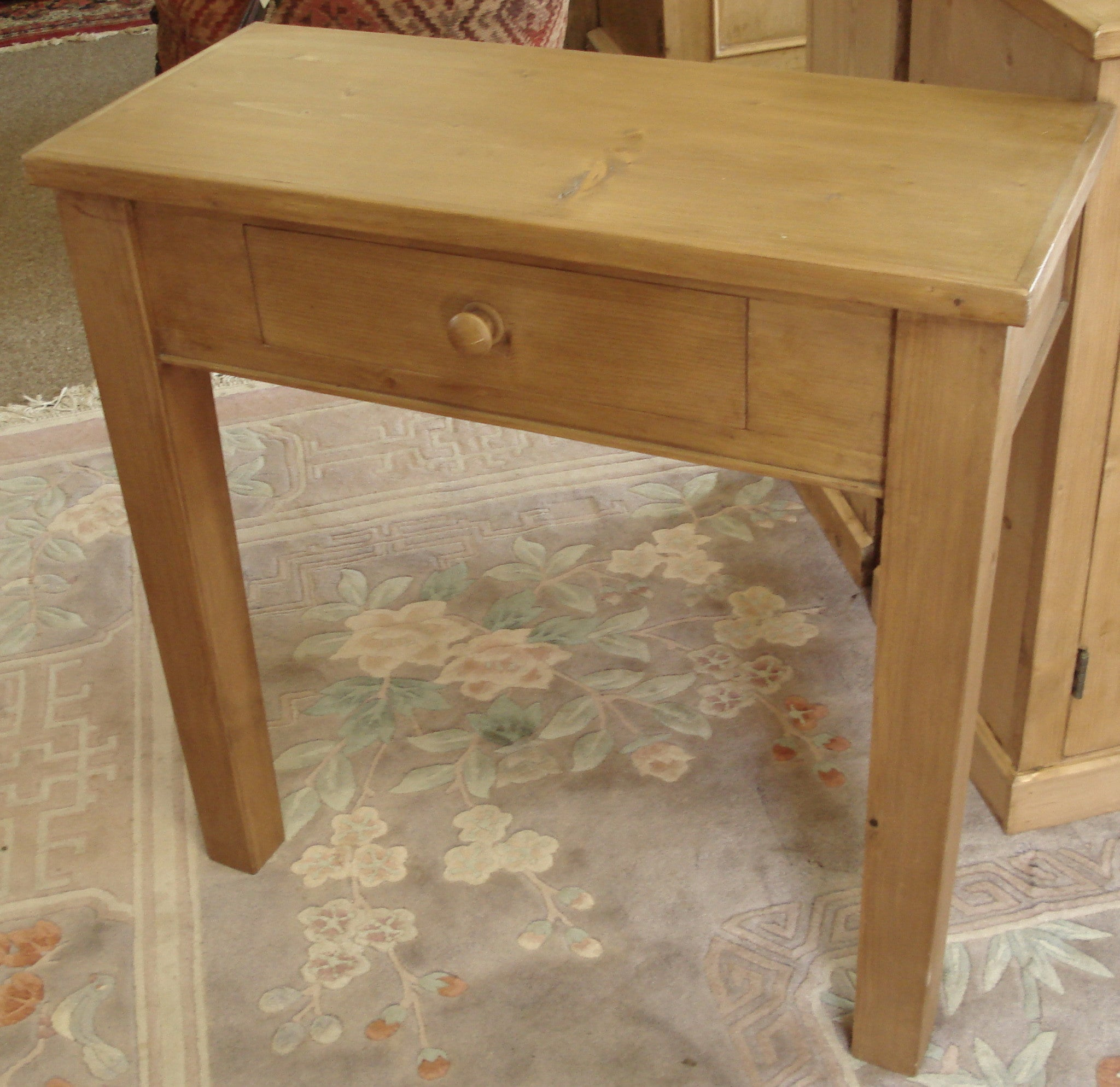 Honey Pine Console Table