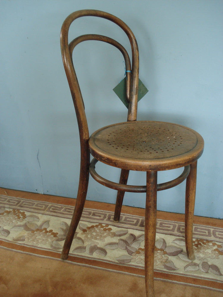 High seat bentwood child's chair