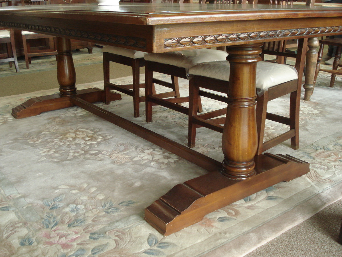 Substantial table for a smaller Boardroom/ larger Dining room.