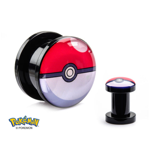 Pokemon Poke Ball Graphic Front-Sold as a pair