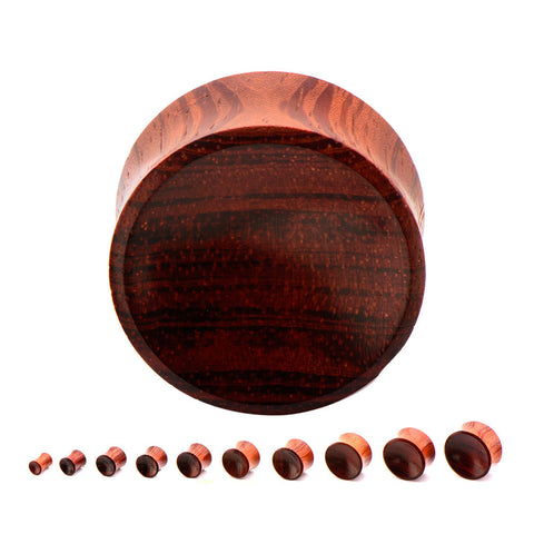 Sappan Wood Plugs. Sold in Pairs