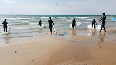 Learn to surf on the Great Lakes