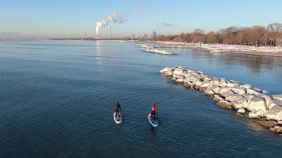 Four Seasons of SUP: Winter