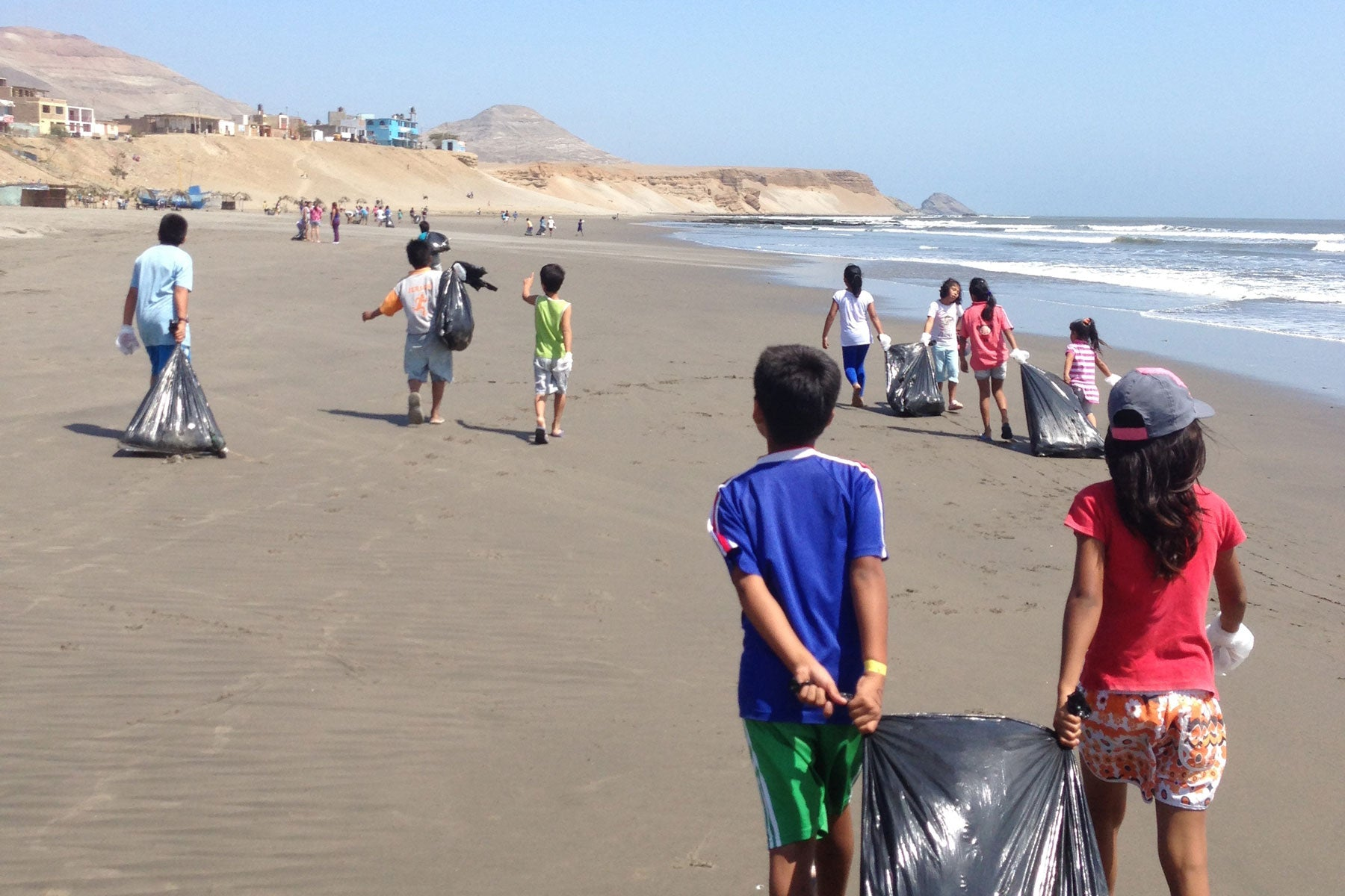 Surf the Greats Chicama Beach Clean Up Sustainable Travel