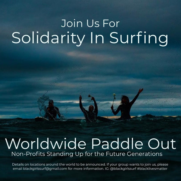 Worldwide Paddle Out Black Girls Surf