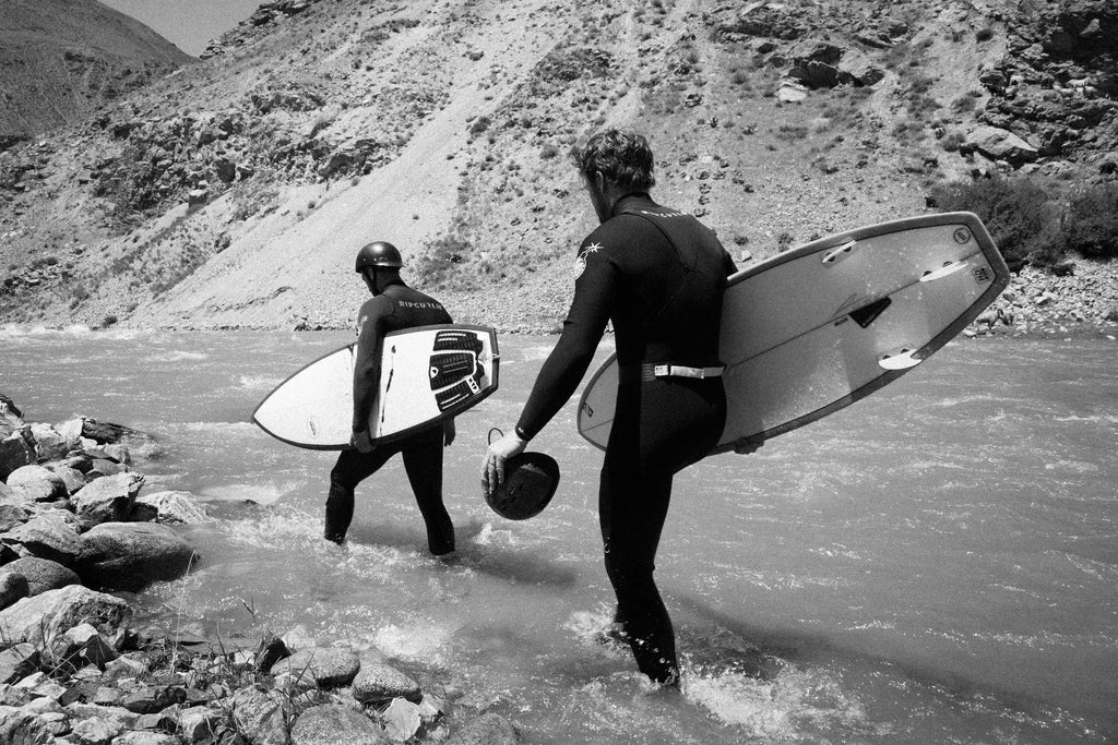 Jacob Quinlan River Surfer Afghanistan by Nico Walz