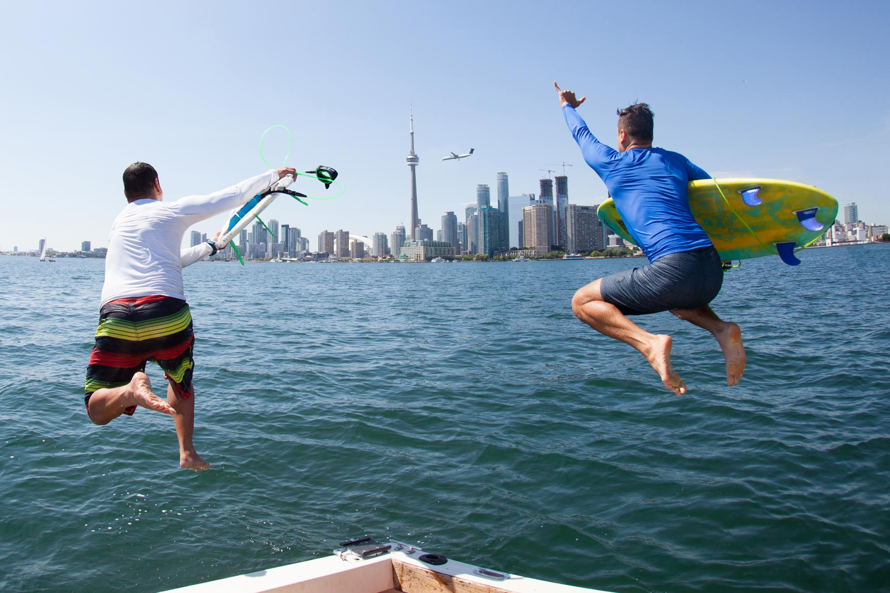 Surf the Greats Toronto Surf City Lake Ontario Freshwater Fund Canada