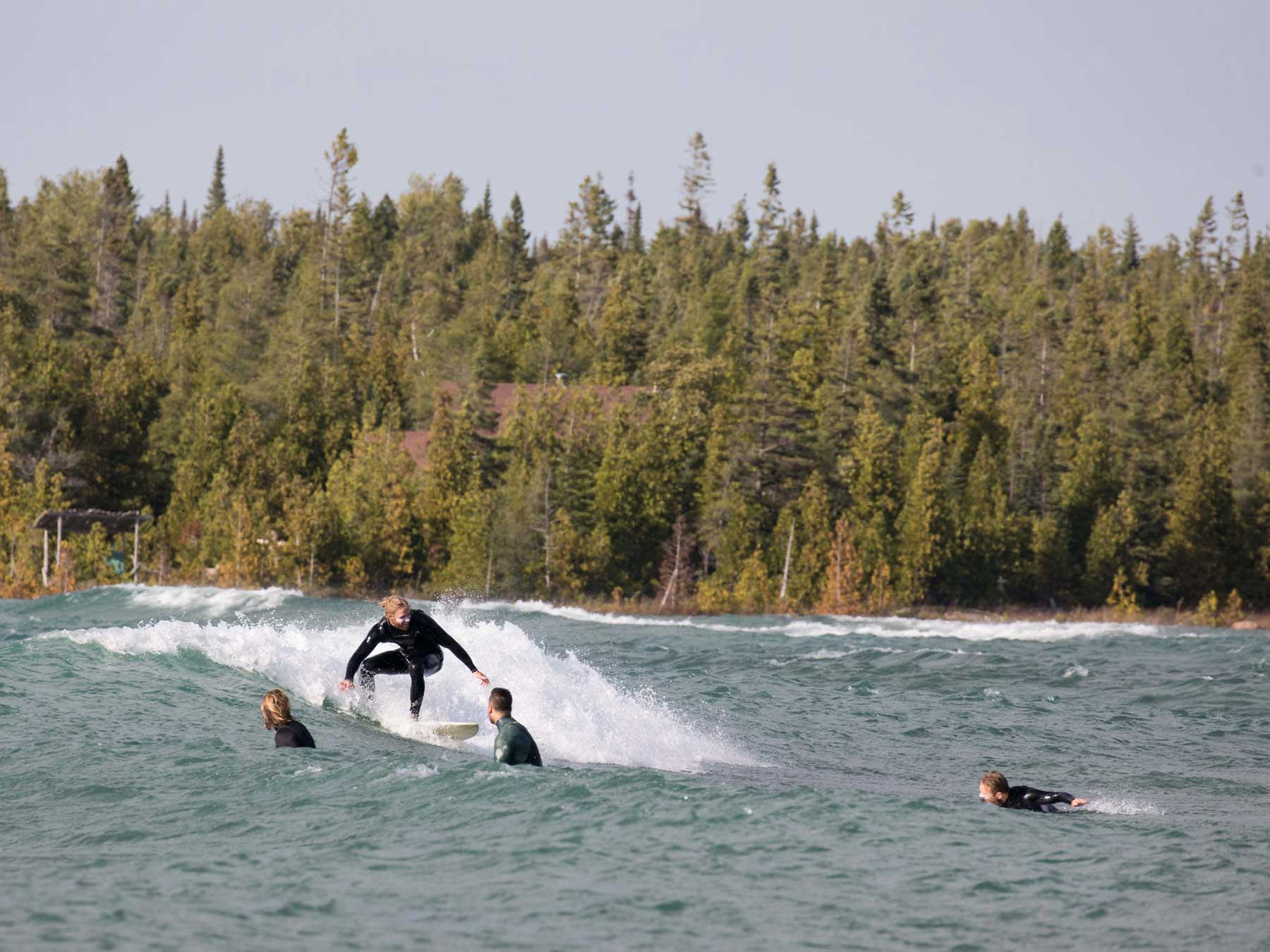 Great Lake Surfing
