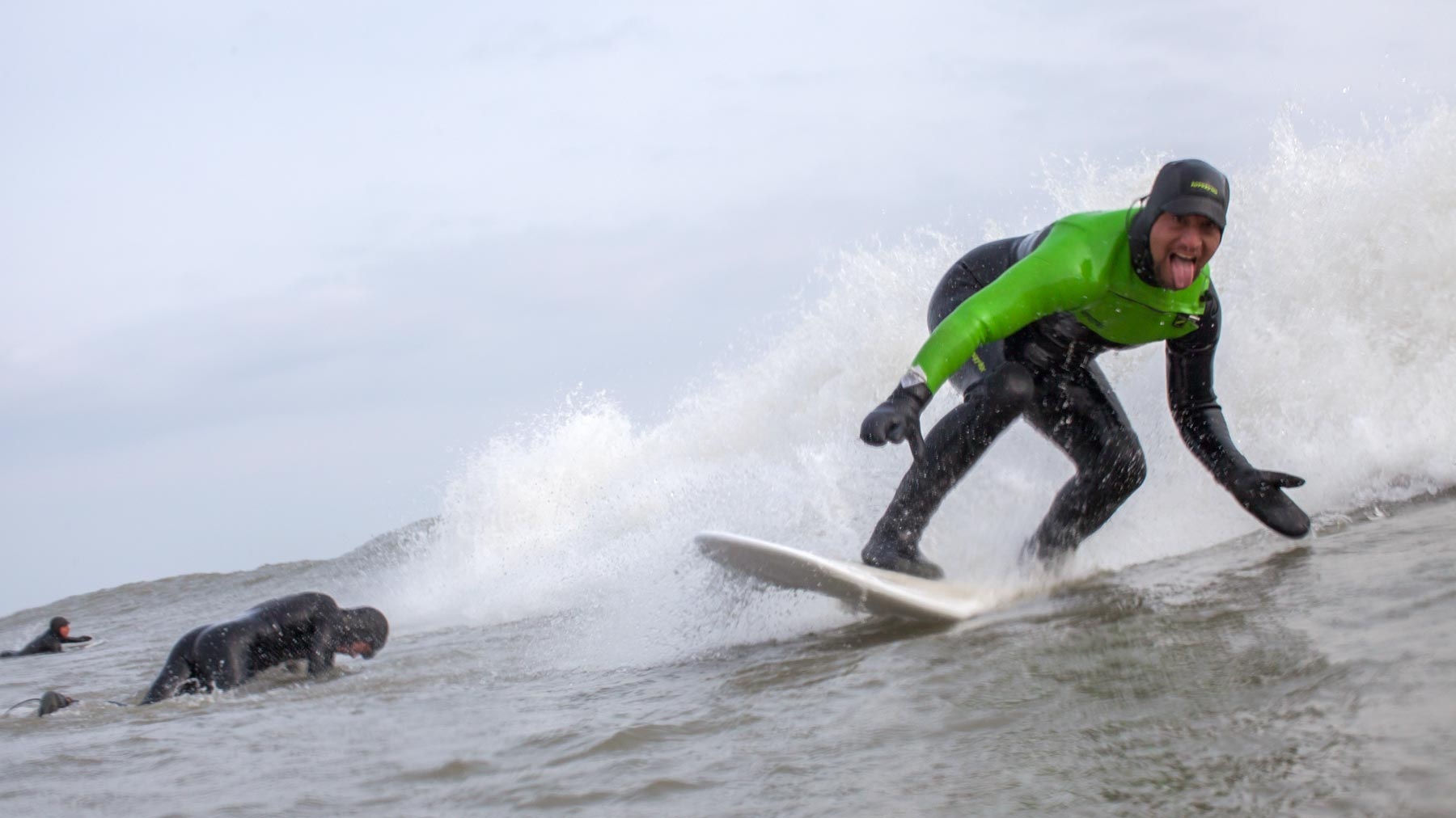 Larry Cavero Great Lakes Surfer
