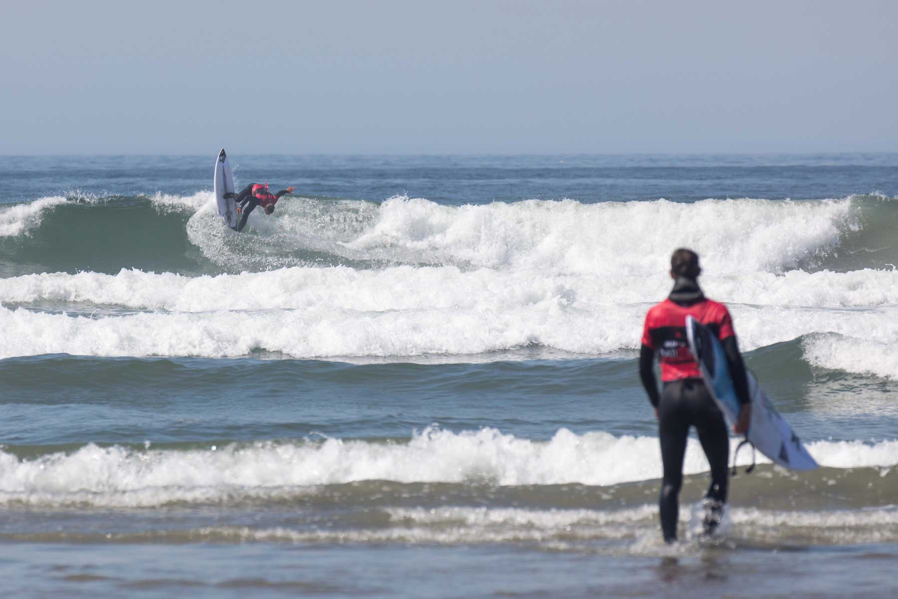 Rip Curl Nationals Tofino Surf Canada Surf Competition by Lucas Murnaghan