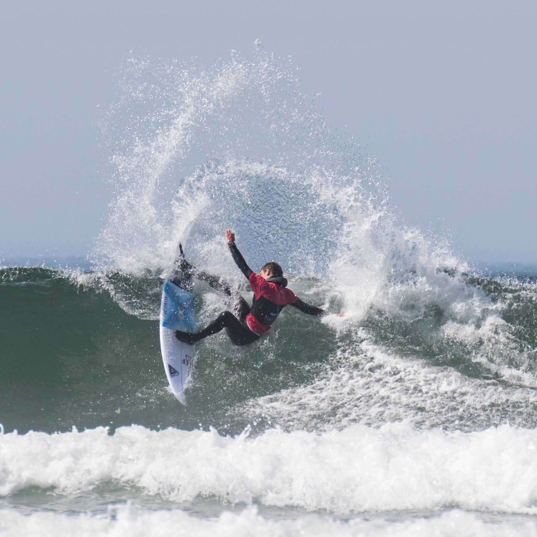 Rip Curl Nationals Tofino Surf Canada Surf Competition Pete Devries by Lucas Murnaghan