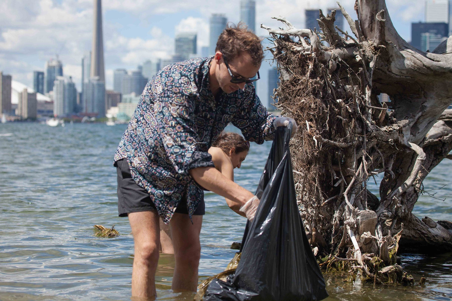 Freshwater Fund Beach Clean up Toronto