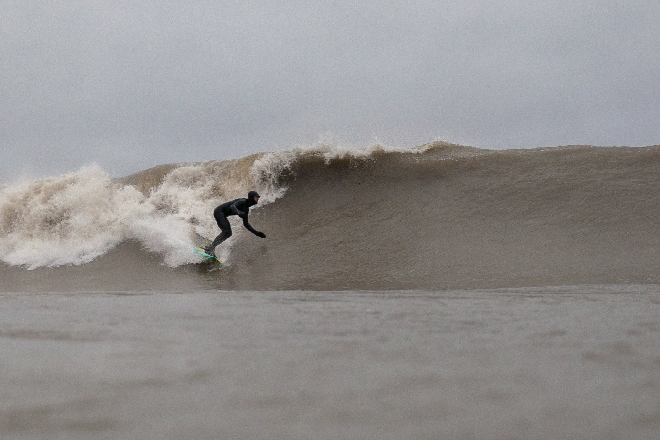 Surfing on Lake Ontario Surf the Greats Great Lakes by Lucas Murnaghan
