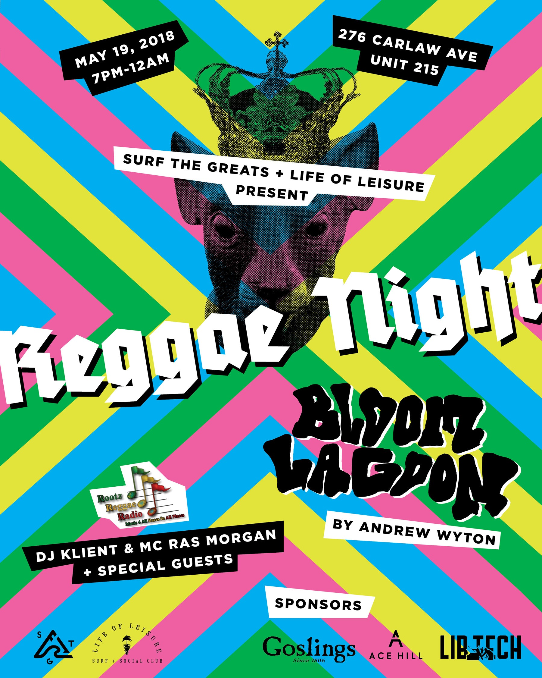 Reggae Night at Surf the Greats Toronto