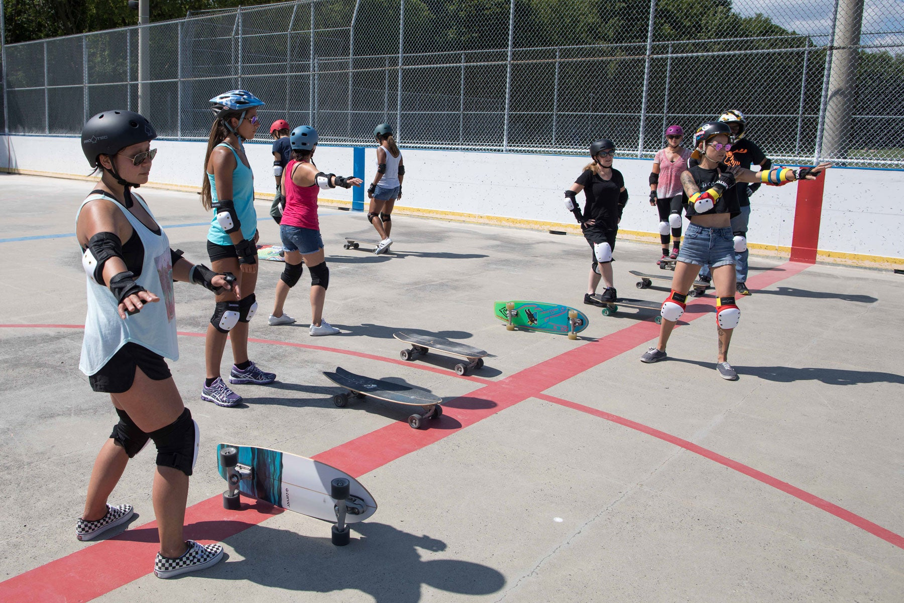 Surf the Greats learn to Surfskate Carver Skateboards Toronto Canada