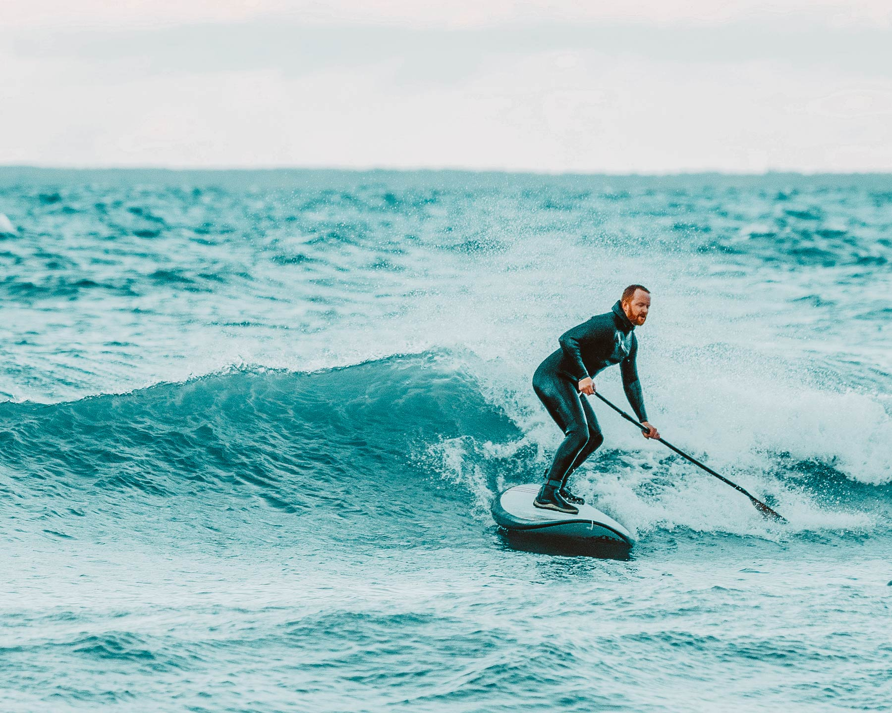 SUP Surfer Collingwood. Photo by Jenna Albany.