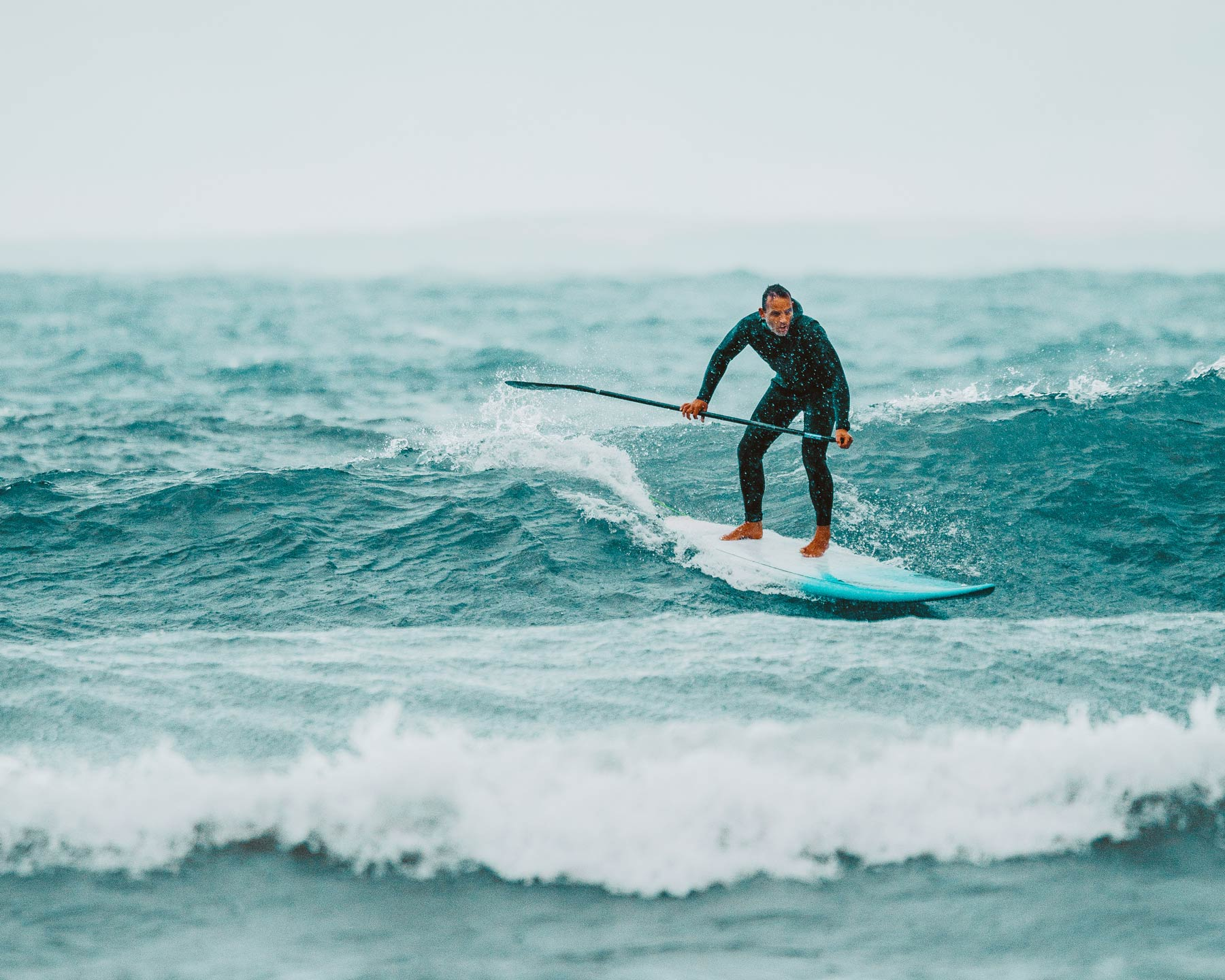 SUP Surfer Collingwood by Jenna Albany