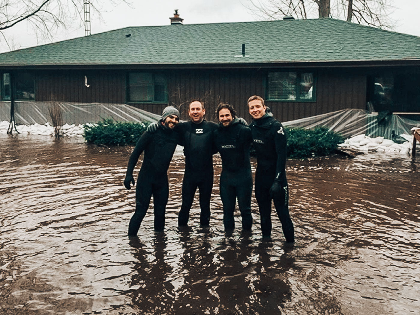 Michael Billinger and Ottawa River Surfers help communities affected by the flood