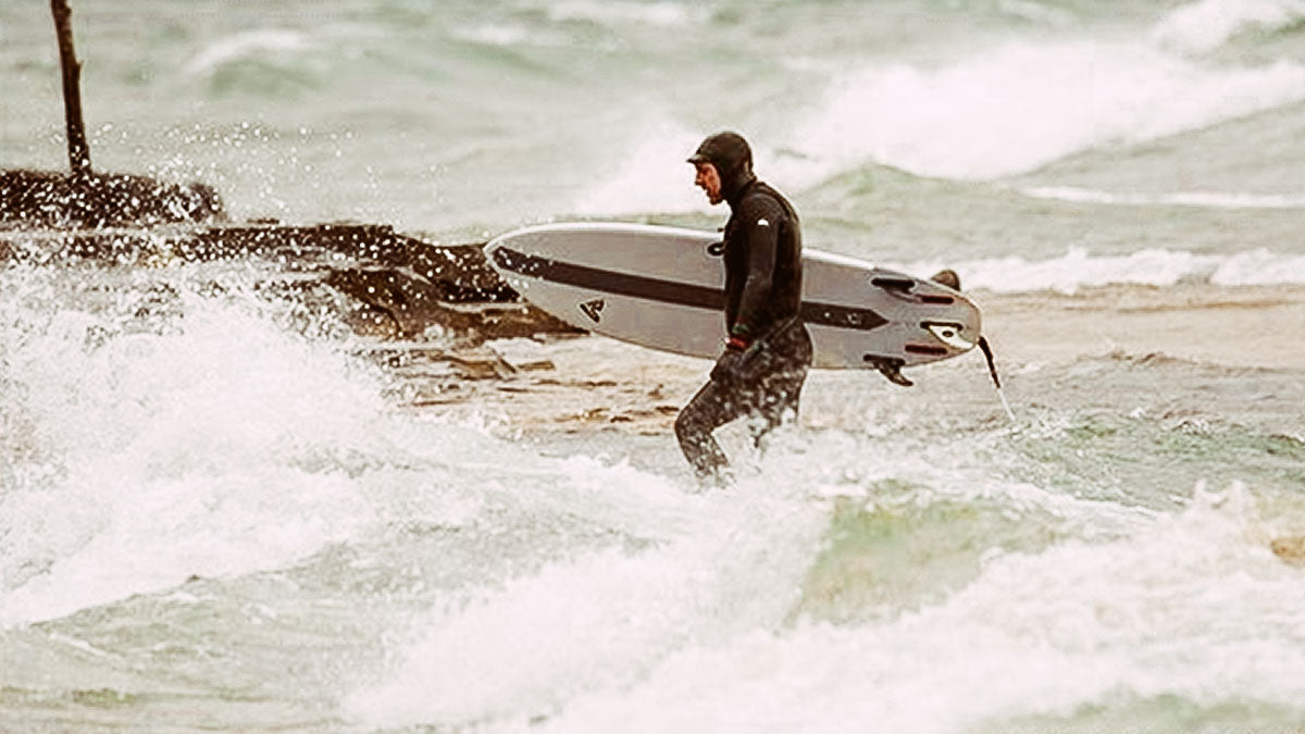 Michael Billinger River Surfer from Ottawa Surfing on the Great Lakes