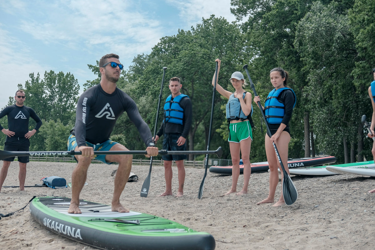 SUP Tour Sunset Paddleboarding Lesson Toronto Standup