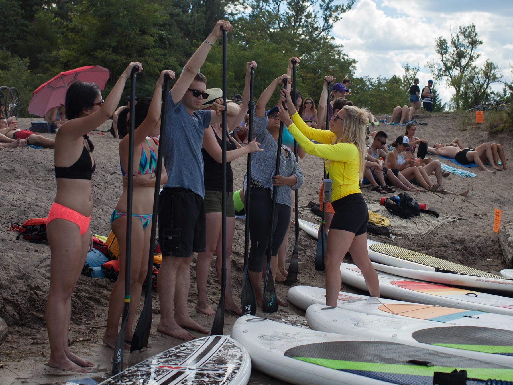 Surf the Greats MEC Outdoor Nation Castaway Toronto Lake Ontario Standup Paddle Boarding SUP Yoga Tidal Flow