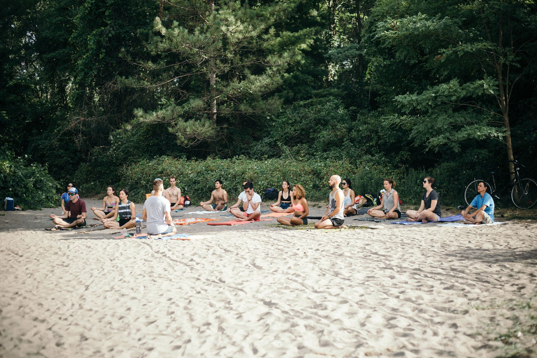 Surf the Greats Yoga by Elie Landesberg