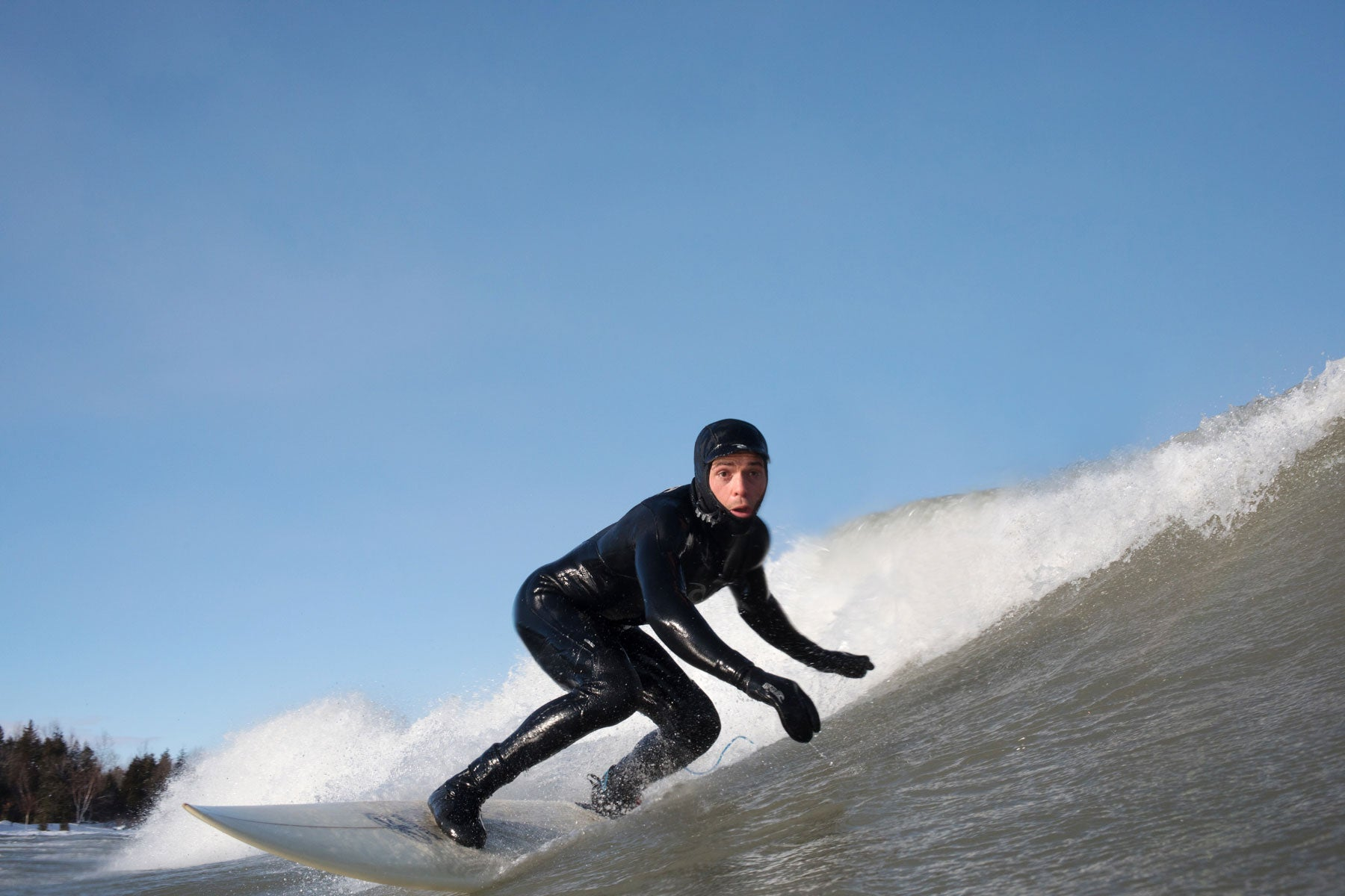 Lucas Murnaghan Surf the Greats Great Lake Surfing Georgian Bay Collingwood Canada Ontario