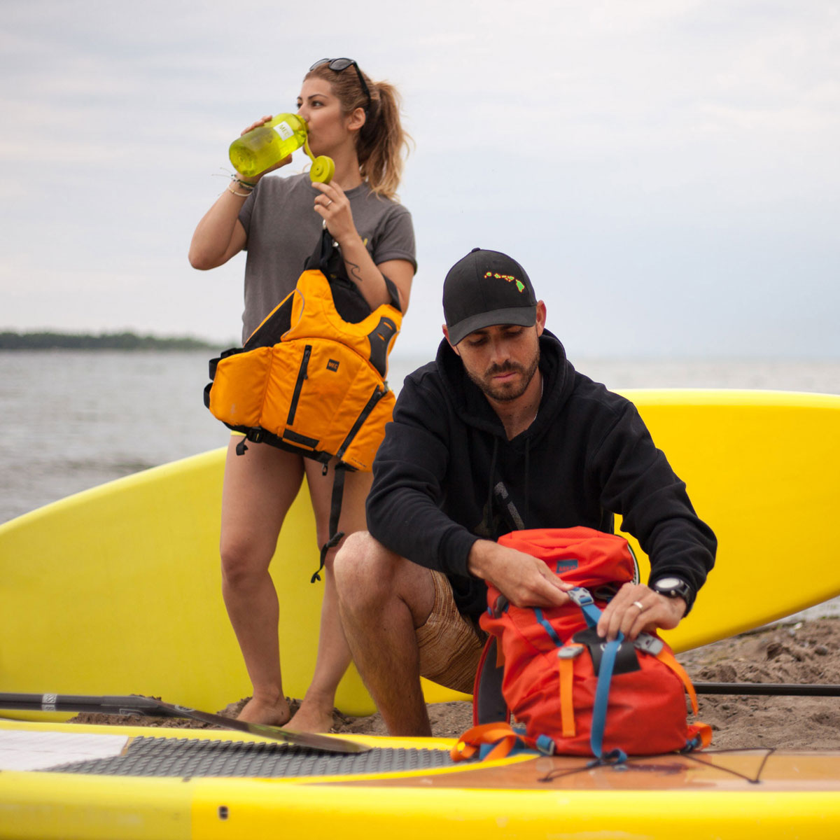 Surf the Greats Social Paddle Toronto Standup Paddle Boarding Lake Ontario