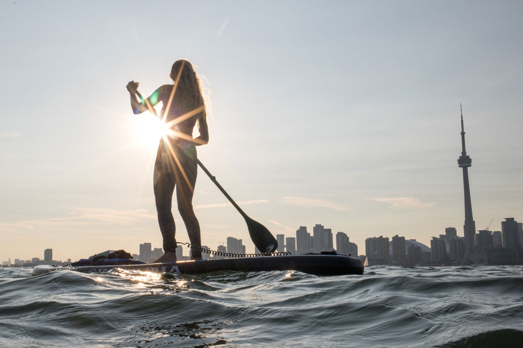 Standup Paddleboarding Sunset Tour Toronto, ON, Canada SUP Lesson