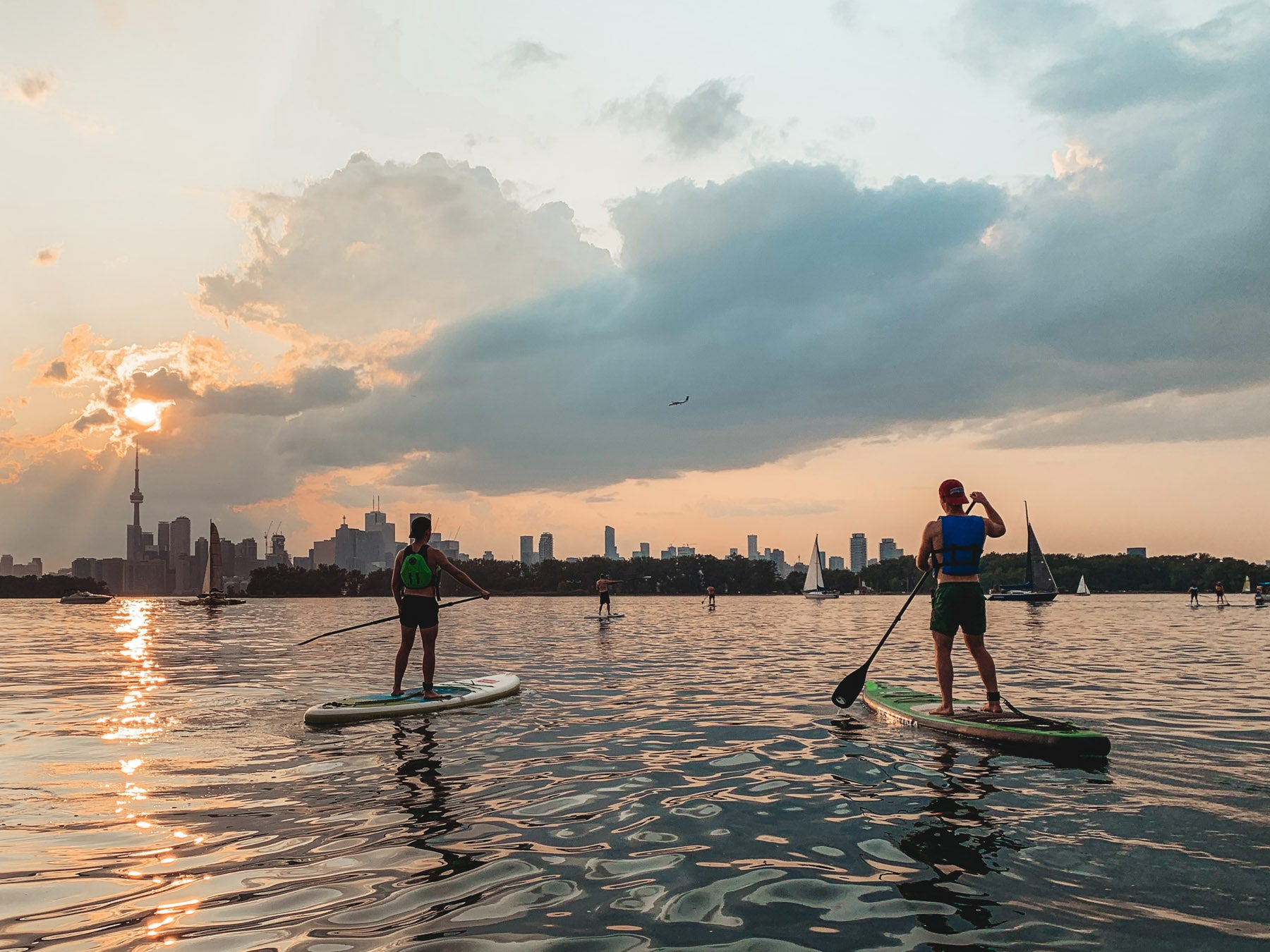 Surf the Greats Standup Paddleboarding Lessons SUP Clinics Toronto Ontario