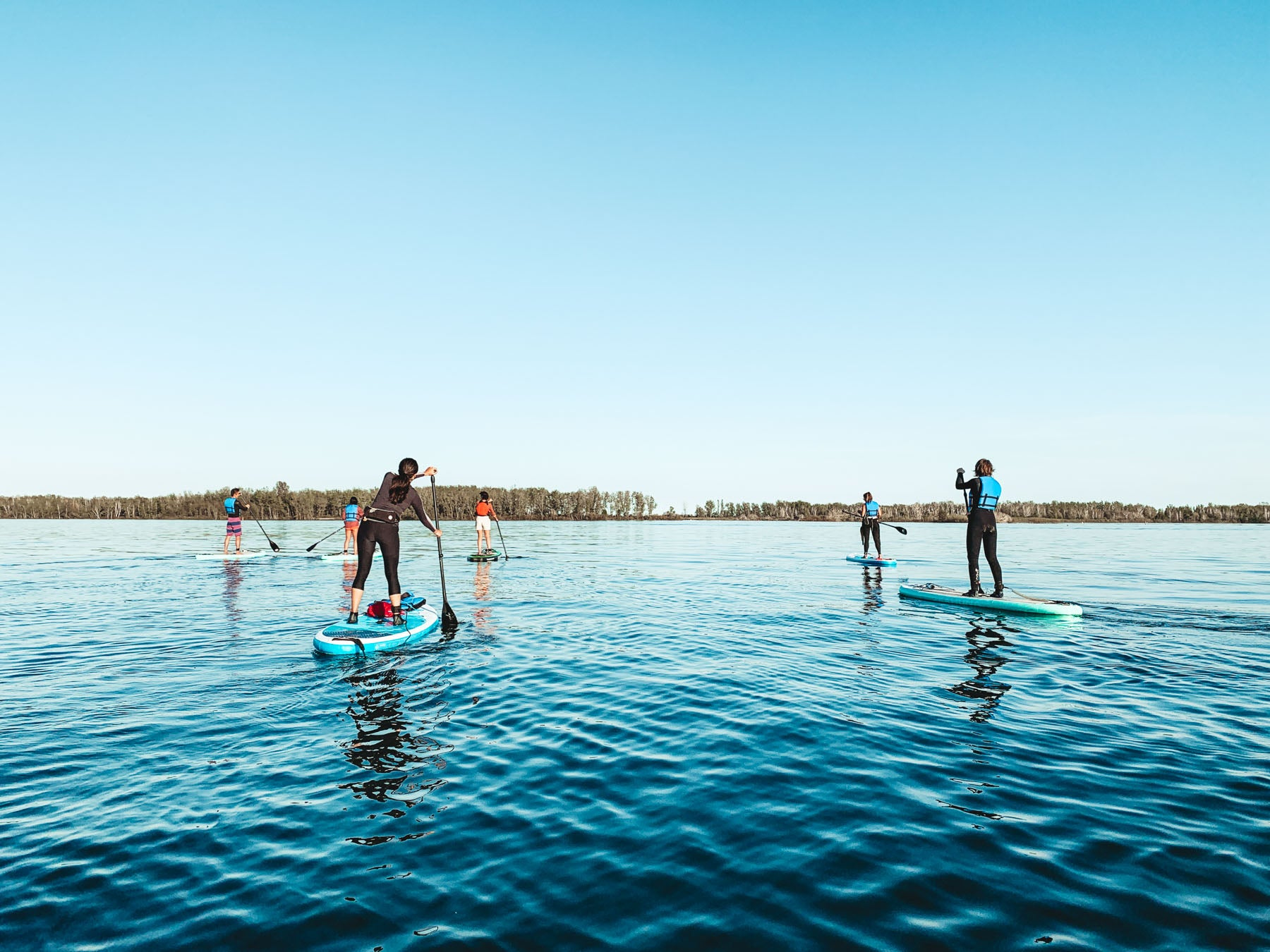 Learn to SUP in Toronto