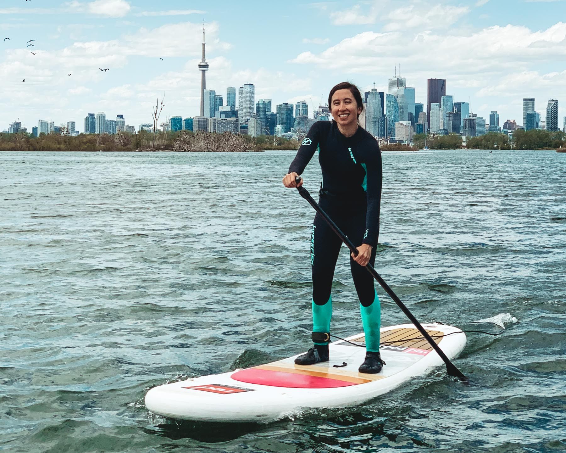Standup Paddleboarding Lessons SUP Clinics and Tours in Toronto