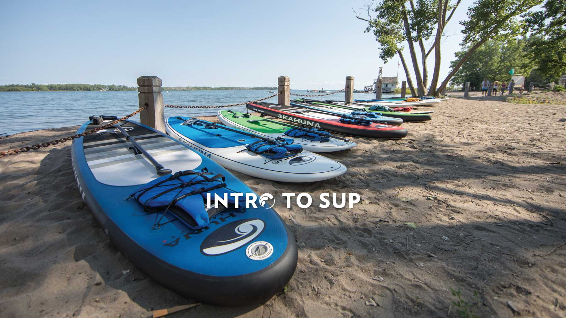 Intro to SUP Toronto Standup Paddleboarding Surf the Greats