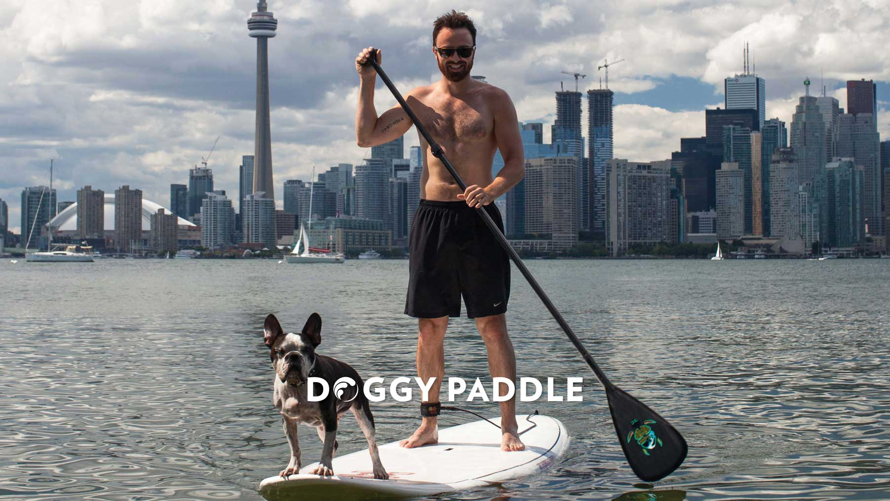 Doggy Paddle SUP Surf the Greats Toronto Standup Paddleboarding