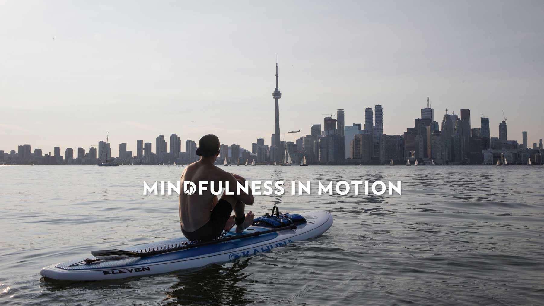 Midfulness in Motion SUP Meditation Toronto Standup Paddleboarding