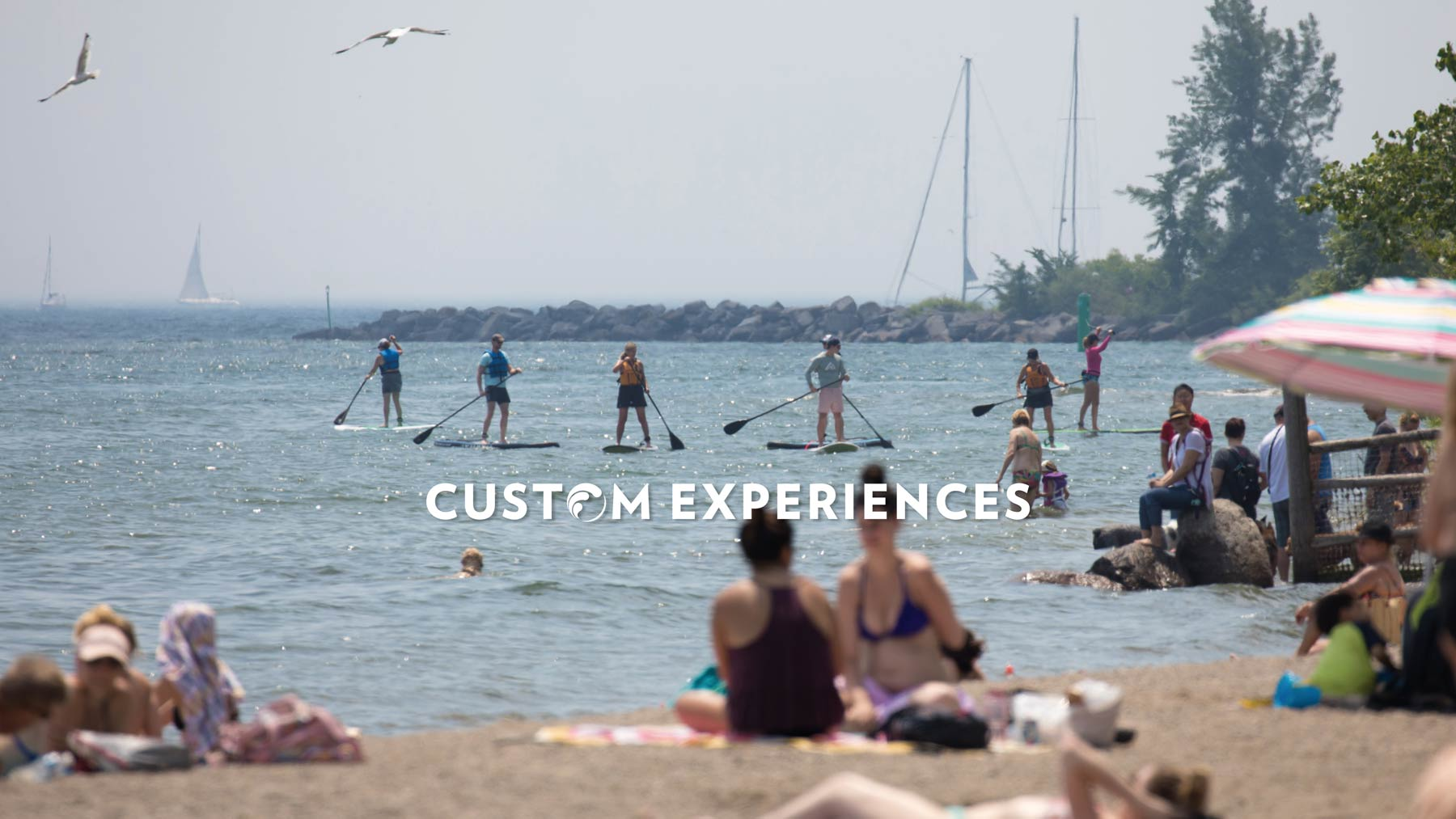 Standup Paddle Boarding SUP Custom Experiences Toronto