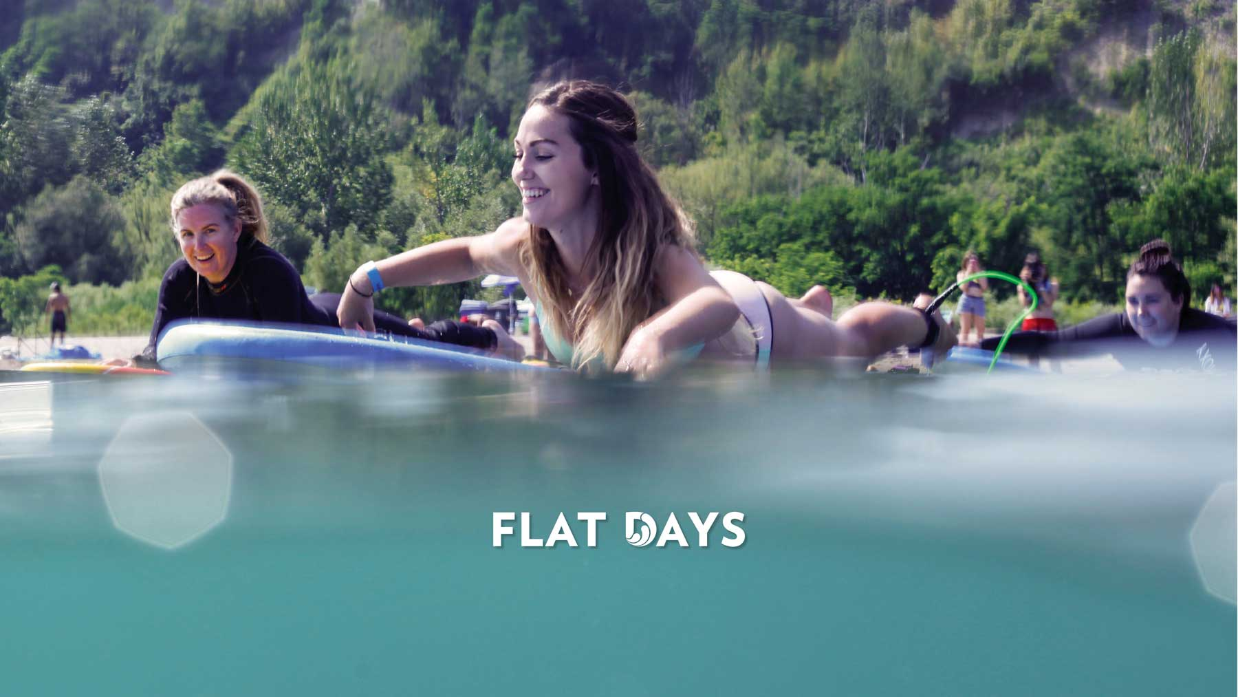 Flat Days Surf Lesson Toronto Learn to Surf on the Great Lakes Lake Ontario Surf the Greats
