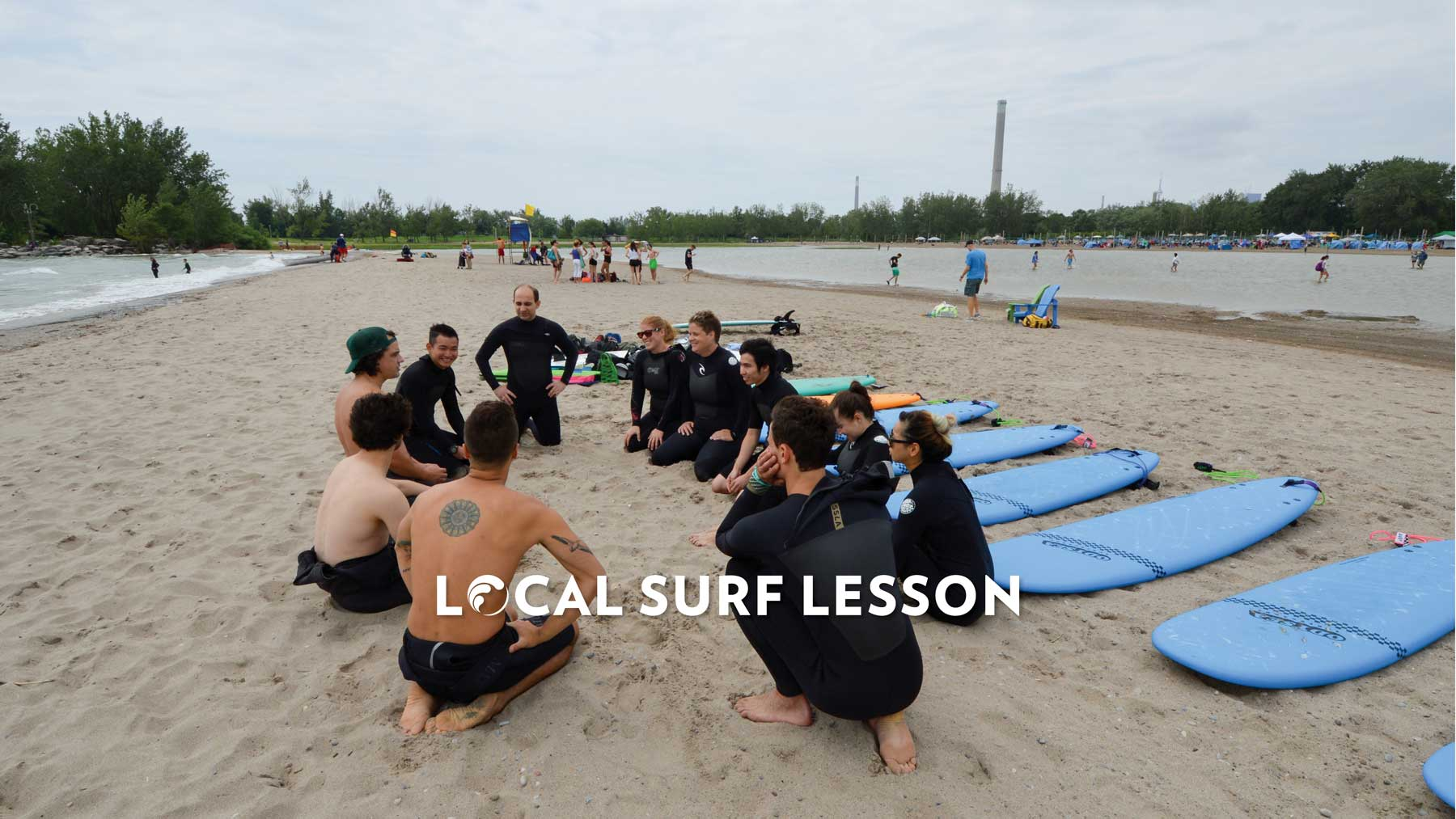 Local Surf Lesson Toronto Lake Ontario Surf on the Great Lakes Learn to Surf