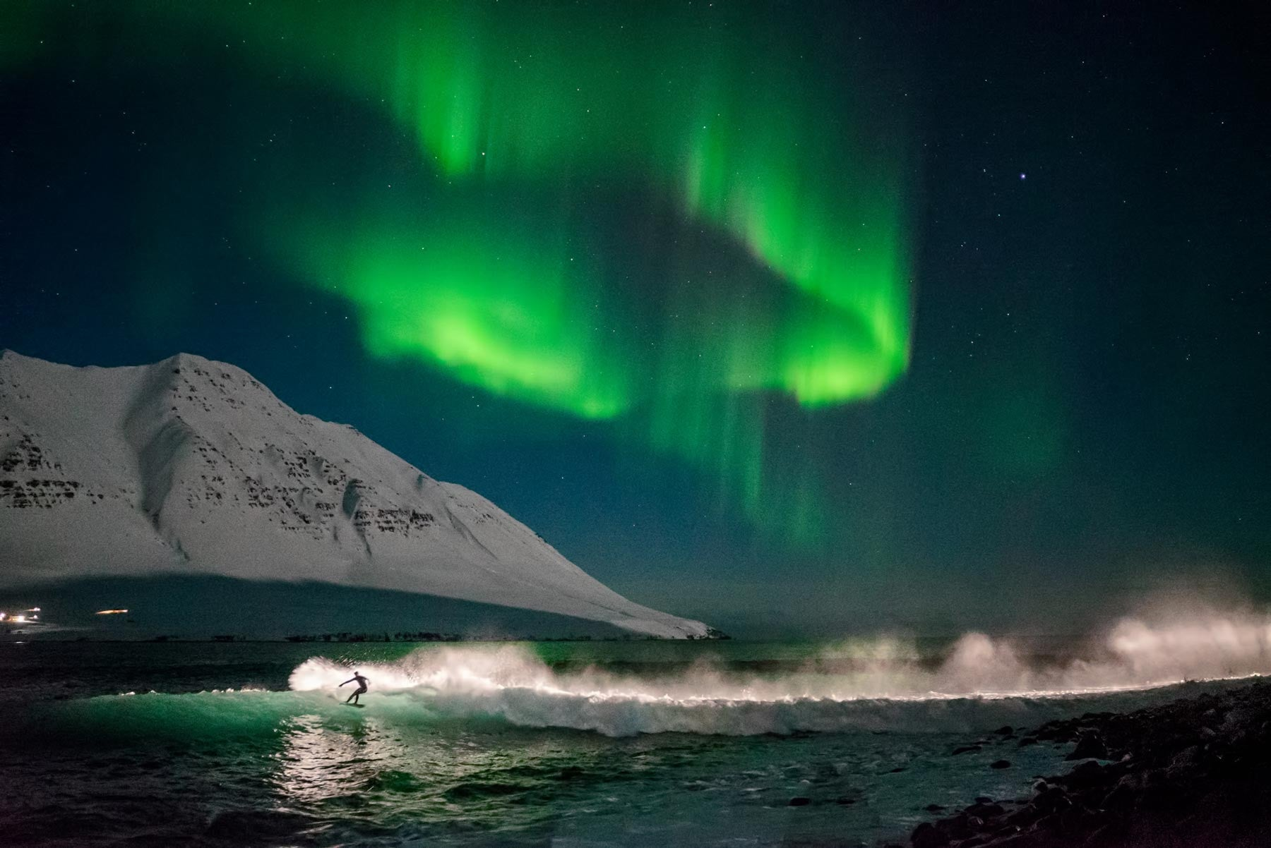 Under An Arctic Sky by Chris Burkard