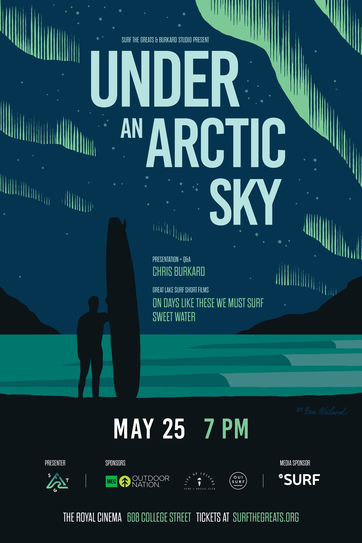 Under An Arctic Sky by Chris Burkard in Toronto