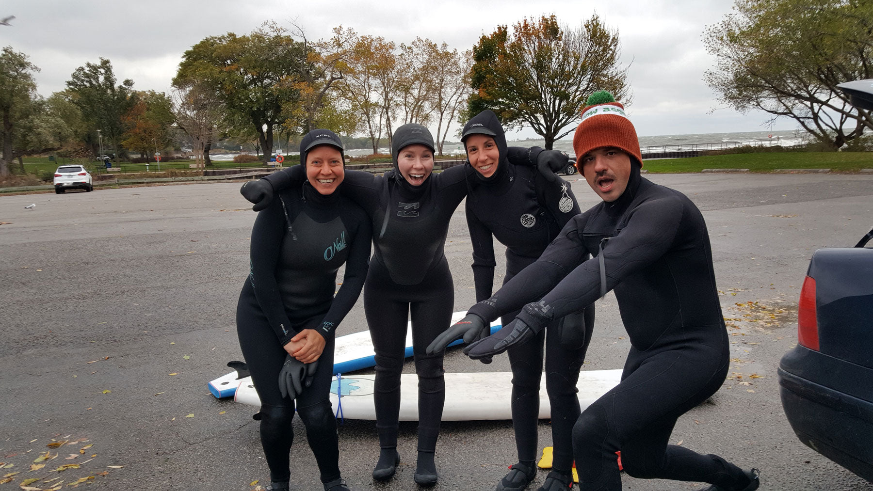 Surfing on Lake Ontario Surf the Greats Great Lakes by Elie Landesberg