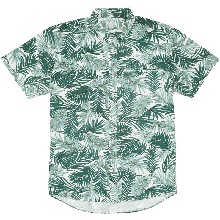 Catch Surf Mel S/S Woven Green