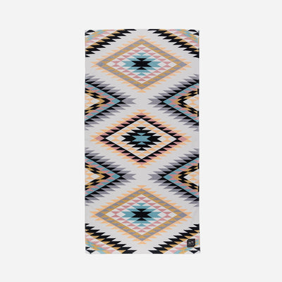 Slowtide Beach Towel - Black Hills Off White