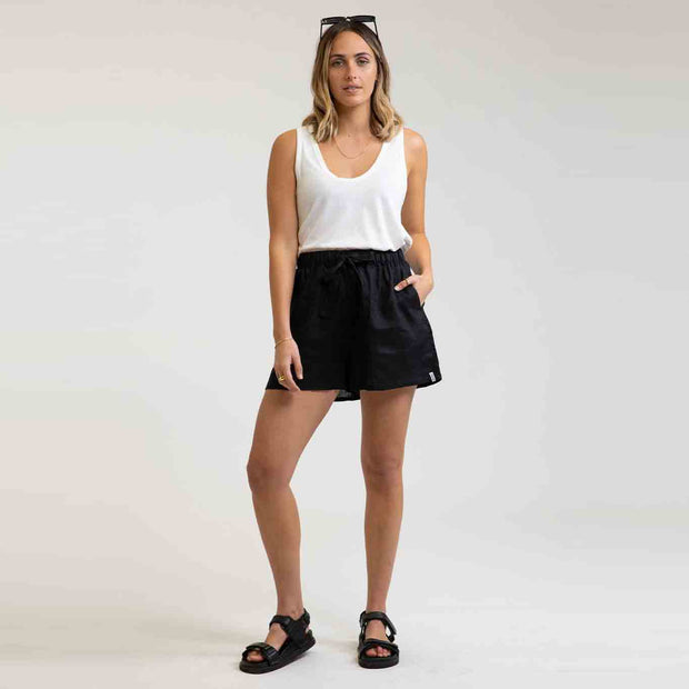 Rhythm Beach Short - Black