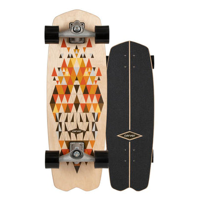 Carver CX Raw Spectra Surfskate - 28.25""