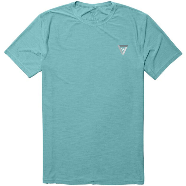 Vissla Twisted SS Surf Tee - Jade Heather